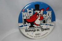 Vintage St. Paul Minnesota 1981 Winter Carnival Button Merry Ol' Times