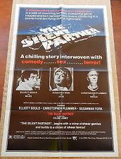 Silent Partner MoviePoster, Original, Folded, One Sheet, Elliot Gould, 1979, USA