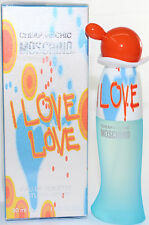 I Love Love  By Moschino 1oz / 30 ml EDT Spray For Women  New In Box