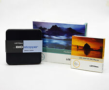 Lee Filters Foundation Holder Kit + Lee Big Stopper & Lee 77mm Wide Ring. New