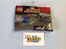 Lego Super Heroes Polybag 30305 Spiderman Super Jumper New/Sealed/Retired/H2F