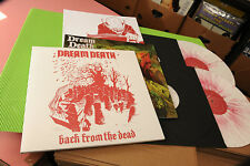 DREAM DEATH 2LP BACK FROM THE DEATH ORIG MULTICOLOR VINYL & BOOKLET NM TOP METAL