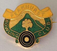 Peakhurst Bowling Club Badge Rare Vintage (K7)