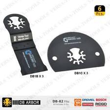 DB-K2 6 PC BI-Mital & Circular Universal Oscillating Saw Blade Set (DB3B3I)