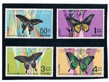 THAILAND 1968 Butterflies (Fauna)