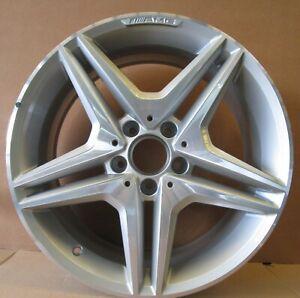 Mercedes-Benz 5-Double-spoke Alloy Wheel Front Axle 7.5Jx18H2 ET37 (A1714014702)