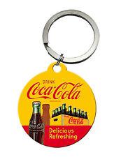 Coca-cola - In Bottles Yellow Schlüsselanhänger