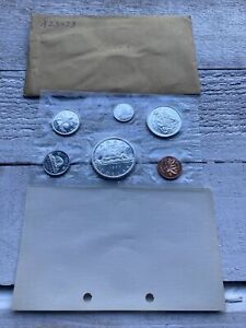 Canada 1965 Proof-Like Mint Set of Uncirculated Coin 1.1 oz Pure Silver