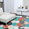 1 set. / 10 pcs. PVC waterproof sticker self-adhesive tiles art floor Sticker on