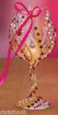 Lolita Mini 10th Anniversary The Lolita Wine Glass Christmas Ornament Rare !
