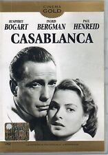 Casablanca- H.BOGART, I.BERGMAN- Film in DVD- 1943- 98 minuti- Cinema - ST568