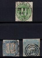 T4281/ GERMANY – SCHLESWIG – MI # 4 – 6 / 7 USED – CV 160 $