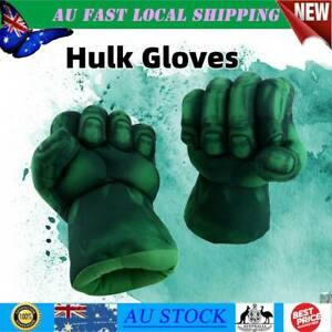 Child Hulk Gloves Smash Hands Plush Punching Boxing Fists Kid Gloves Play Toy