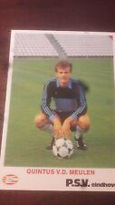 Quintus van der Meulen PSV 1980-1981