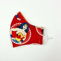 Wonder Woman Teenager/Adult Handmade Cloth Face Mask Protection Cover