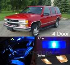 18Pcs Blue LED Lights Interior Package Kit For 1992-1999 4 door Tahoe/Yukon