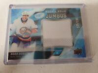 Noah Dobson 2019-20 UD Ice Rookie Relic Jumbos Jersey 109/199 NY Islanders