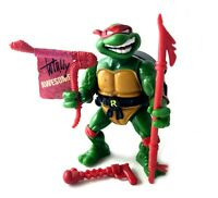 Talkin Raphael Vintage TMNT Ninja Turtles Action Figure Near Complete 1991 90s