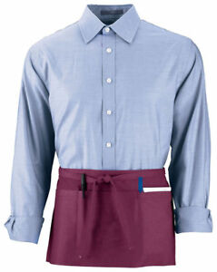 Augusta Sportswear Single Needle Extra Long Cafe Pouch Pocket Waist Apron. 2700