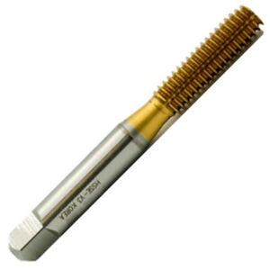 1/4-20 H4 Thread Roll Form Bottom Tap 4 Lobe w/Oil Groove HSSE-V3 w/TiN