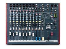 Allen & Heath Zed 60-14fx Band DJ Mixing Desk Mixer FX Karaoke Disco Singer