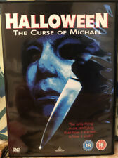 Halloween 6 - The Curse of Michael Myers DVD Rare Deleted Slasher Horror