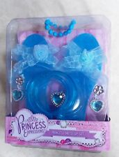 PRINCESS EXPRESSIONS PRINCESS DRESS UP SET SLIPPERS EARRINGS BRACELETS RING NEW