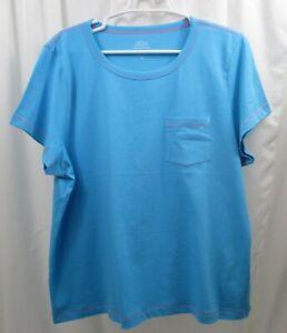 Women's J Crew Pocket T Shirt 2X