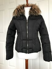 Andrew Marc Down Jacket With Fur Collar, EUC, Size Small