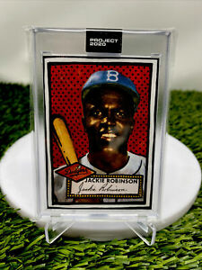 Jackie Robinson Topps Project 2020  #98 by Joshua Vides N hand Free Ship📈look🔥