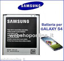 Batteria Originale SAMSUNG Galaxy s4 2600 Mah per i9500 i9505 B600BE TOP QUALITY