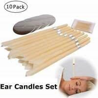 10x Ear Wax Cleaner Removal Coning Fragrance Candles Hollow Healthy Care·UK