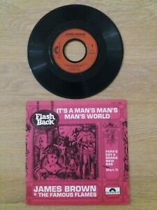JAMES BROWN It's A Man's Man's Man's World SP POLYDOR 2121 209 Soul Funk R'n'B