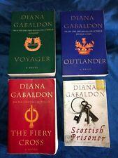 Diana Gabaldon LOT of 4 Outlander Novels Trade Paperbacks