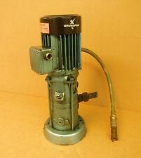 Used Grundfos Motor & Pump Hitachi Seiko Hi-Cut 203 Edm Machine very good cond.