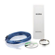 16dBi 2.4ghz Wifi Antena Direccional de Antena de refuerzo para Autocaravana Caravana USB