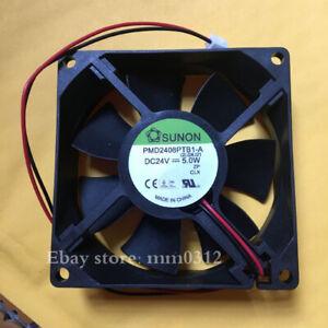 1pcs  SUNON PMD2408PTB1-A 8025 24V 5W 8CM Inverter Fan