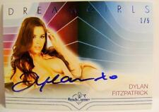 DYLAN FITZPATRICK AUTOGRAPH AUTO DREAMGIRLS BLUE #1 1/5 BENCH WARMER 2017 RARE