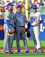 """Kris Bryant & Anthony Rizzo Chicago Cubs 2016 All Star Game Photo (8"""" x 10"""")"""