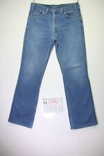 Levi's 417 is Press Bootcut shortened (cod.h1790) Sizes 48 w34 l34 jeans used