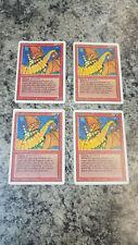 4 Shivan Dragon - Magic the Gathering MTG Revised Edition x4 4x Playset