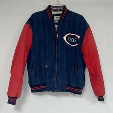 Vintage Mirage Chicago Cubs Baseball Jacket Sz M - MLB Cooperstown Collection