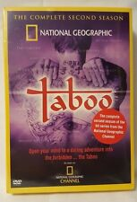 National Geographic Taboo: The Complete Second Season 2 (DVD, 2005, 4-Disc Set)