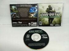 Call of Duty 4: Modern Warfare (PC, 2007) w/Case Activision Software