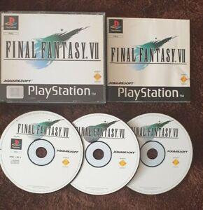 Final Fantasy 7 (Sony PlayStation 1, 2002)
