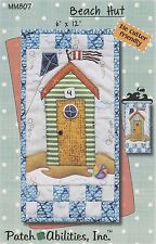 Monthly Mini Series Beach Hut Pattern Pmm807 from Patch Abilities