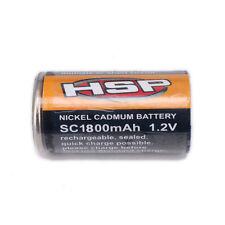 Glow Plug Igniter 80101 1800mAh SC Battery Rechargable 1.2V RC Nitro Engine