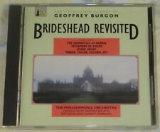 THE TELEVISION SCORES OF GEOFFREY BURGON rare original mint UK cd (1992)  OOP!