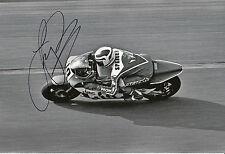Freddie Spencer Hand Signed Honda 12x8 Photo 2.
