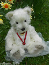 Charlie Bears BAXTER the Westie ~ QVC Exclusive Isabelle Lee ~ ONLY 600 Made !